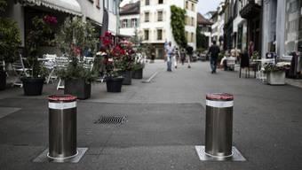 Die geplanten Poller-Standorte in BAsel