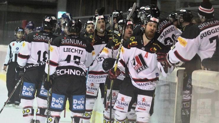Der EHC Basel kann sich über einen weiteren Sieg freuen.