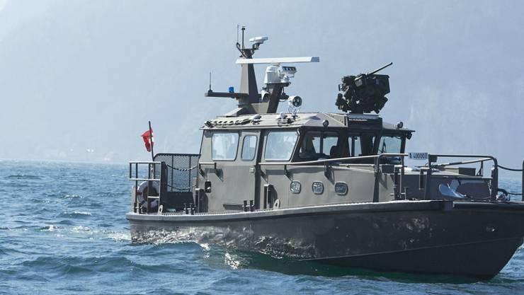 Das neue Patrouillenboot der Schweizer Armee wird in Finnland und in Luzern gebaut.