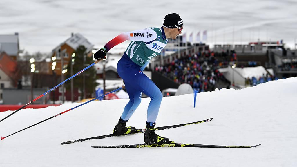 Auch für die Langläufer, im Bild Dario Cologna, ist die Weltcup-Saison vorzeitig zu Ende