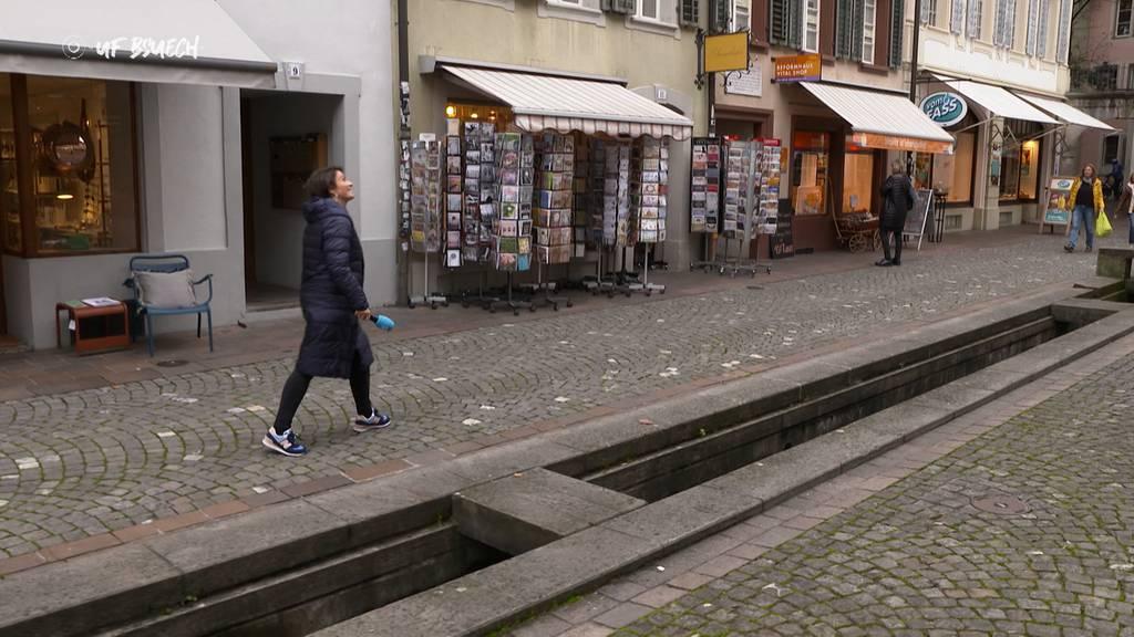 """""""Uf Bsuech"""" in Aarau"""