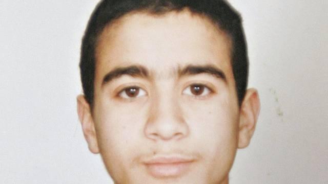 Undatiertes Foto von Khadr vor seiner Verhaftung
