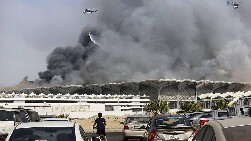 Brand in Bahnhof für Hochgeschwindigkeitszüge