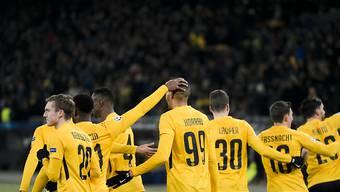 Guillaume Hoarau schoss die Young Boys zum ersten Sieg in der Champions League