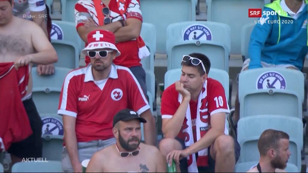 Enttäuschendes Resultat: Schweiz spielt gegen Wales 1:1-Unentschieden