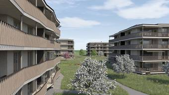 In wenigen Monaten beginnen die Bauarbeiten an der Münchwilerstrasse für die Eigentums- und Mietwohnungen.