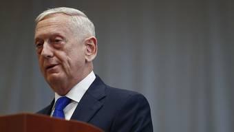 US-Verteidigungsminister James Mattis kritisiert Russland wegen versuchter Einmischung in die US-Kongresswahlen im November.