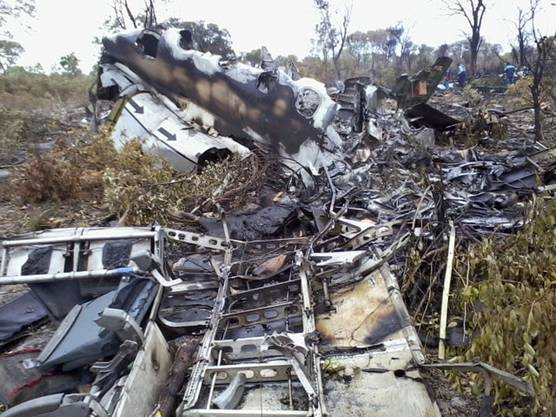 Das Flugzeug der Mozambique Airlines stürzte 2013 ab