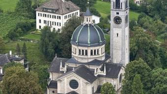Kirche von Zürich-Enge: eine von 48 Stadtzürcher reformierten Gotteshäusern.
