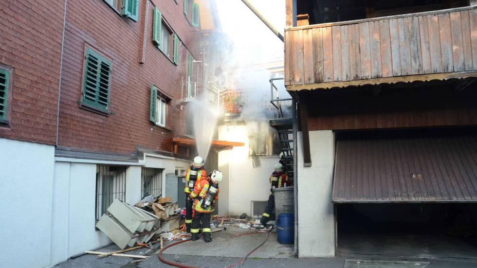 Explosion im Kernser Steihuis vermutlich Suizid