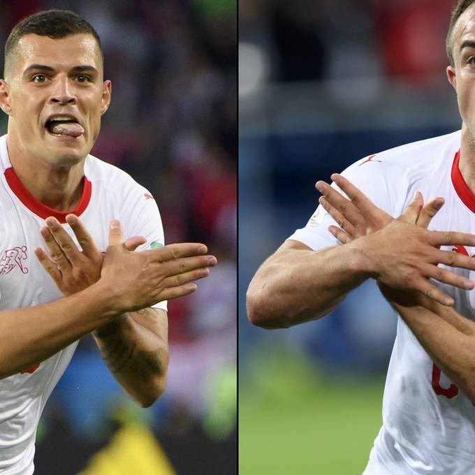 Die Doppeladler-Affäre an der WM