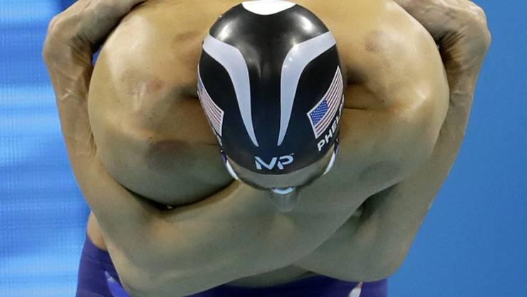 Michael Phelps für einmal geschlagen