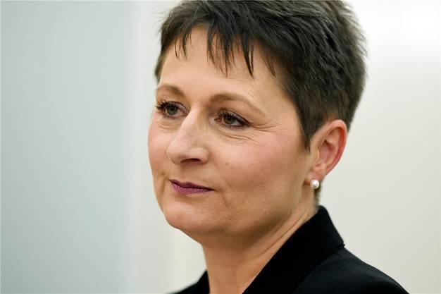 Nachdenklich: Wird Franziska Roth im zweiten Wahlgang gewählt?