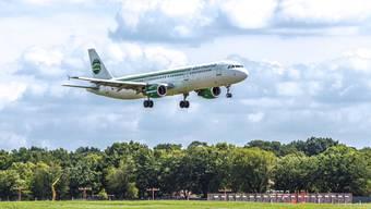 Bei der klammen Fluggesellschaft Germania keimt Hoffnung auf eine Geldspritze von Investoren auf. (Archiv)