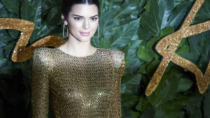 Die US-Amerikanerin Kendall Jenner ist das bestbezahlte Model der Welt. (Archiv)