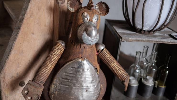 Balu der Bär - aus Alteisen