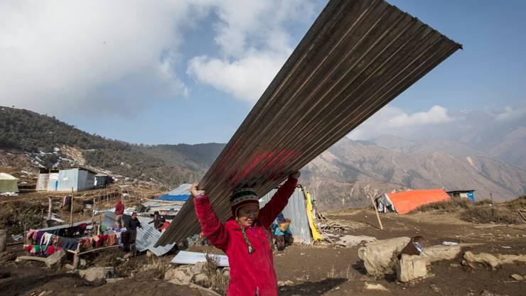 Vor allem abgelegene Gebiete wurden vom Erdbeben stark zerstört.