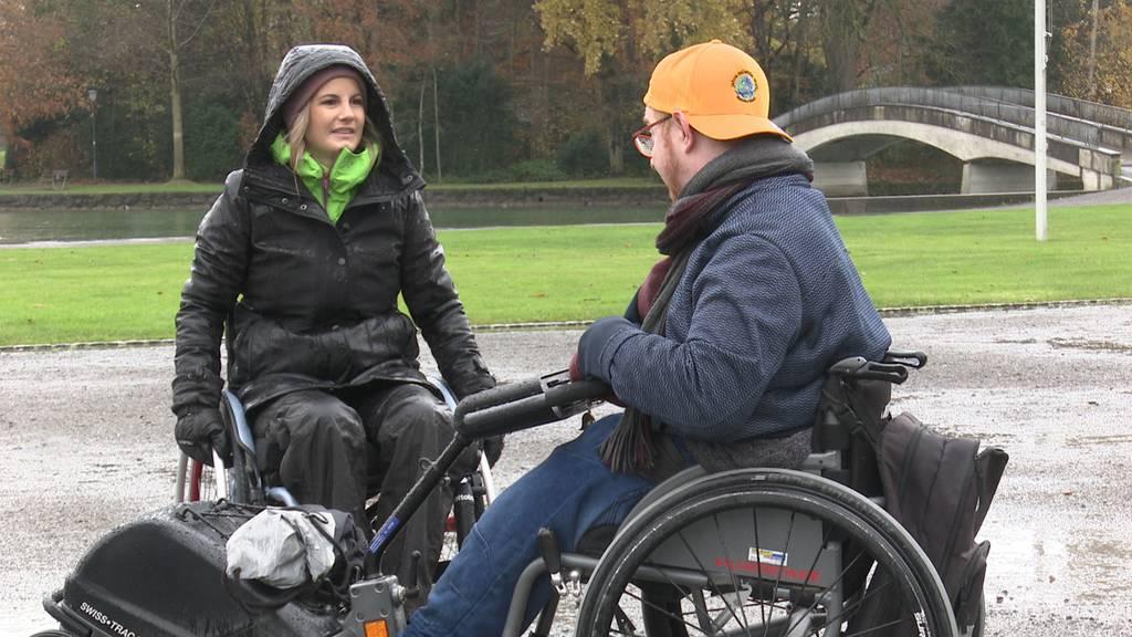 Unterwegs im Rollstuhl