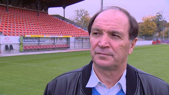 Neuer Trainer gesucht: FCA-Sportchef Raimondo Ponte spricht bei «Tele M1» über die Entlassung von Livio Bordoli.