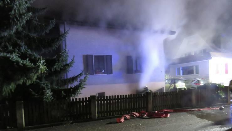 Der Brand in Dottikon.
