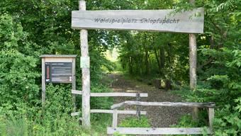 Grünes Licht: Der Waldspielplatz «Chlopfspächt» in Tegerfelden darf weiterhin genutzt werden.