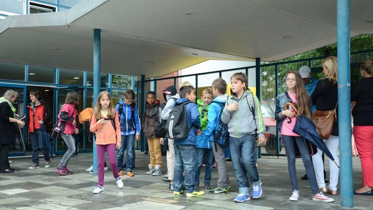 Schulstart in Schlieren