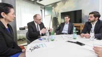 Streitgespräch zum Rahmenabkommen mit Ständeratskandidaten