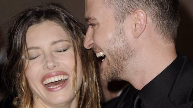Justin Timberlake und Jessica Biel (Archiv)