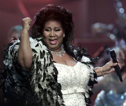 Soul-Legende Aretha Franklin stirbt im August.