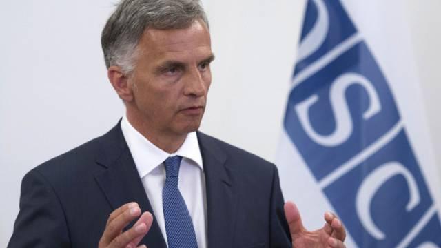OSZE-Vorsitzender Didier Burkhalter (Archiv)