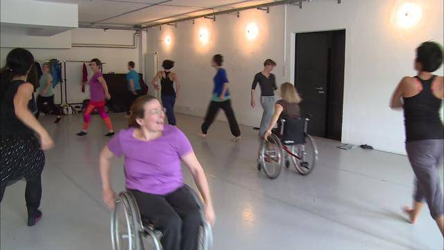 Tanzen mit und ohne körperliche Behinderung