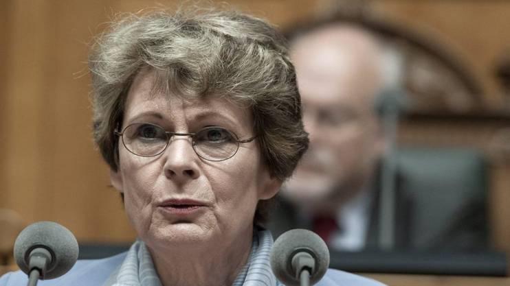 Die ehemalige GLP-Nationalrätin Margrit Kessler gibt das Präsidium der Stiftung SPO Patientenschutz ab. (Archivbild)