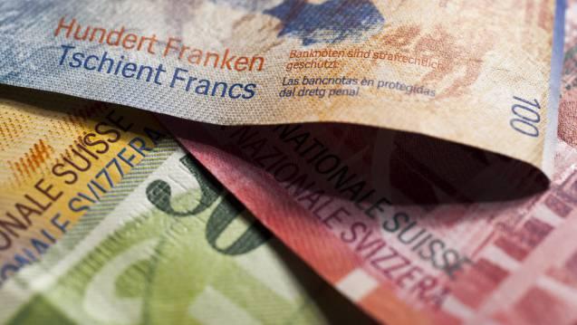 Fast 900 000 Franken Mindereinnahmen bei den Einkommenssteuern.