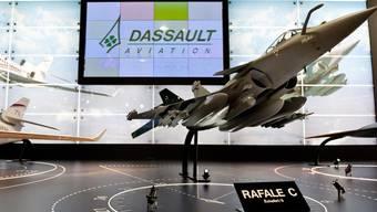 Ein Rafale-Jet von Daussault (Symbolbild)
