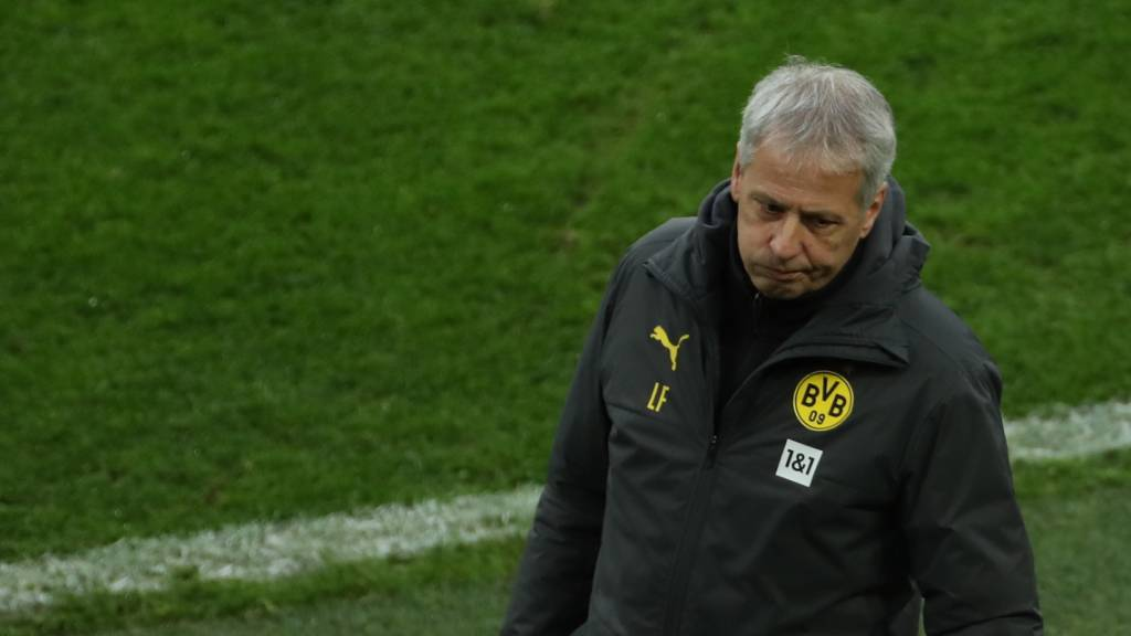 Enttäuschung in Dortmund: Lucien Favre und Borussia Dortmund verlieren gegen Aufsteiger Stuttgart 1:5