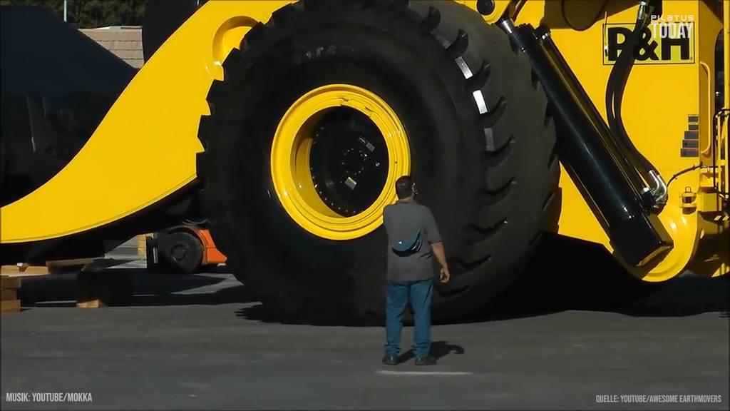 Der gigantischste Radlader der Welt