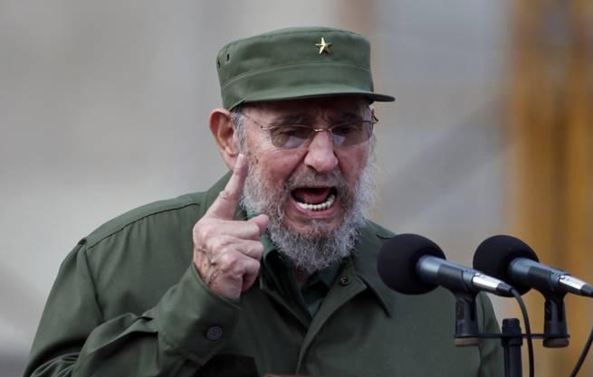 Fidel Castro stand fast 50 Jahre an der Spitze des kubanischen Staates.