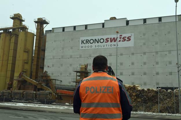 Schiesserei in Luzerner Holzfabrik