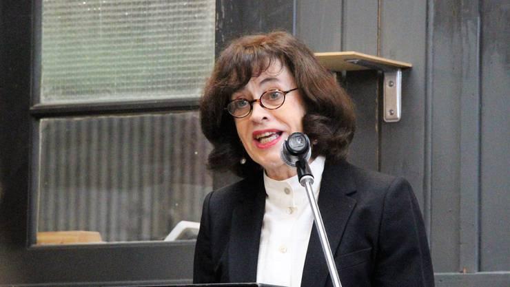 Jury-Präsidentin Nicoletta Brentano.