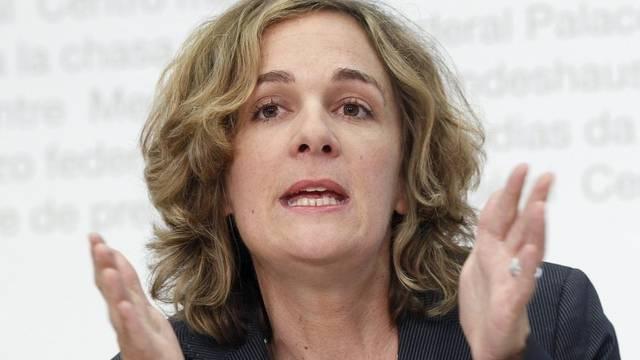 Ursula Wyss will in die Berner Stadtregierung (Archiv)