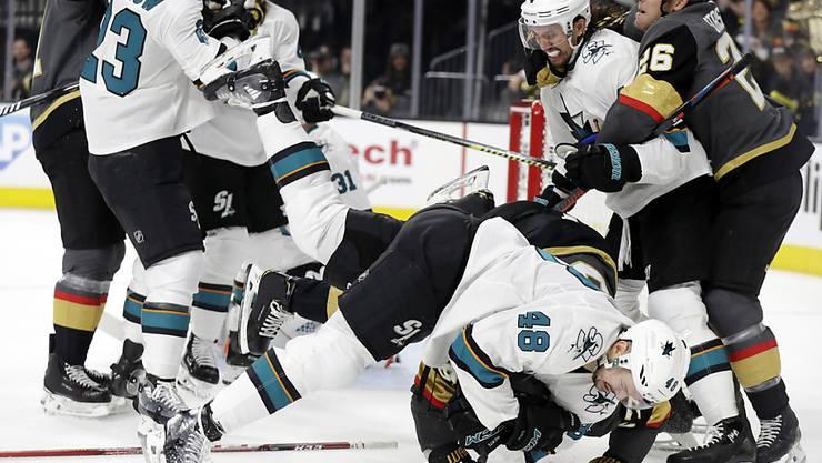 Die San Jose Sharks stemmen sich mit aller Kraft gegen das drohende Saisonende