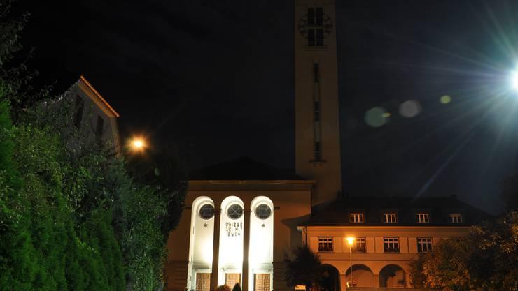 Das diesjährige Adventskonzert von Jugend- und Stadtmusik Olten am 27. November findet in der Friedenskirche statt. (Foto: Patrick Weibel-Adam)
