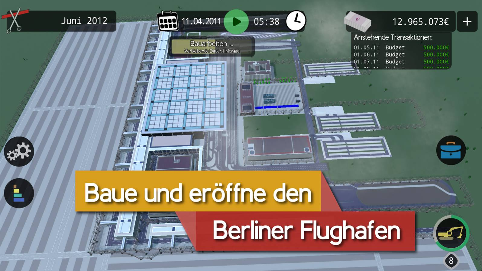 BER Bausimulator