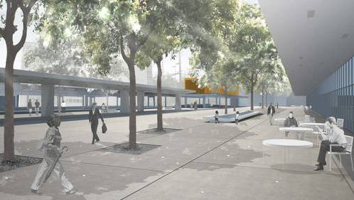 So kann man sich den zukünftigen Max-Frisch-Platz vorstellen.