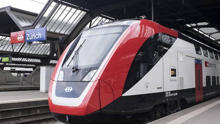 """Funktioniert noch nicht wie gewünscht: der neue SBB-Doppelstockzug """"FV-Dosto"""" für den Fernverkehr. (Archivbild)"""