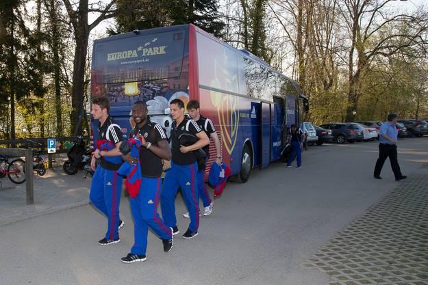 """FCB übernachtet vor grossem Spiel in der """"Seerose"""" Meisterschwanden"""