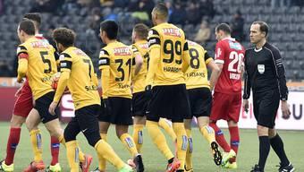 Das Spiel zwischen dem FC Sion und den Young Boys vom 13. März hat die Schiedsrichter-Diskussion erneut entfacht.