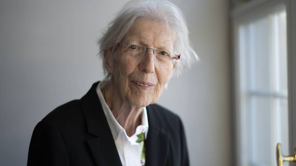 Die Schweizer Autorin Helen Meier ist am frühen Samstagmorgen in Trogen verstorben. Sie war eine Grande Dame der Schweizer Literatur. (Archivbild)