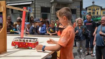 Solarmobil-Rennen in Baden