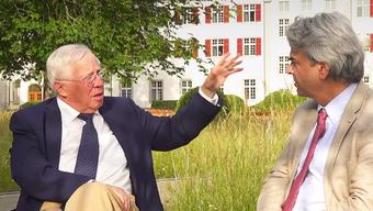 """Christoph Blocher in der neusten Folge seines Vlogs """"Teleblocher"""""""